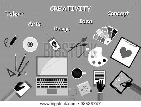 creativity black