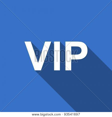vip flat icon