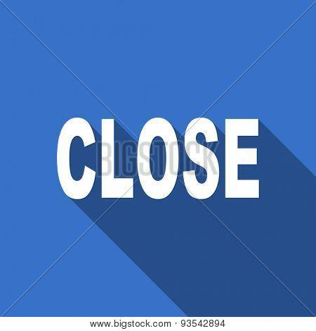 close flat icon
