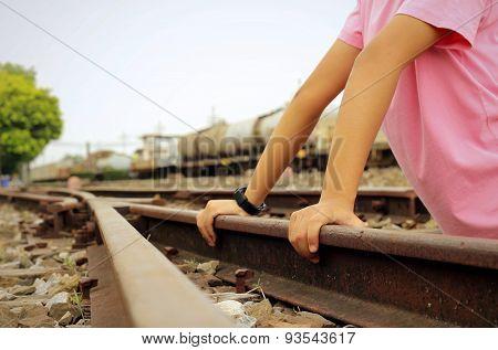 Handle On The Railway