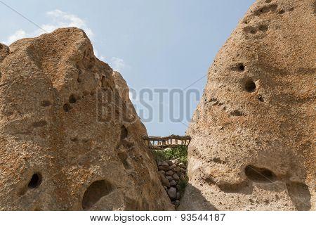 troglodyte village, Kendovan, Iran