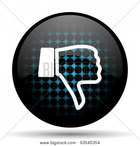 dislike icon thumb down sign