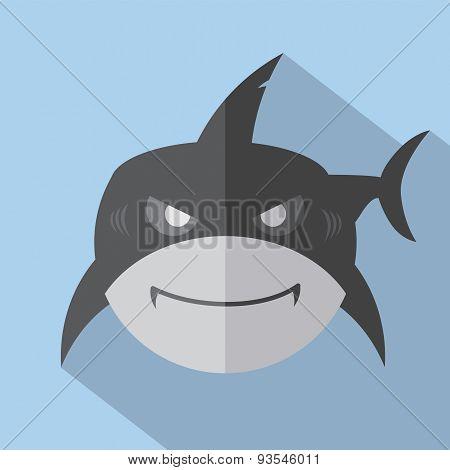 Shark Icon.
