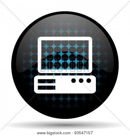 computer icon pc sign