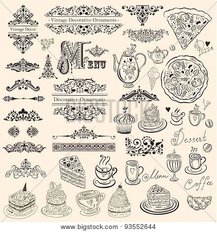Ornaments and decorative elements