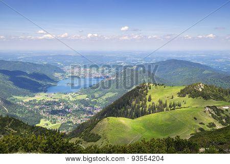 View From Jaegerkamp Bavaria Alps