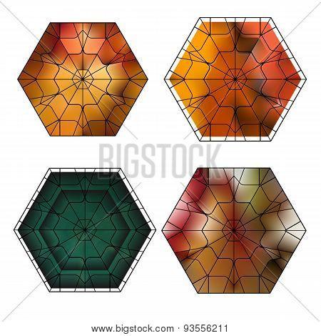 Set Of Gemstone Vector Pattern