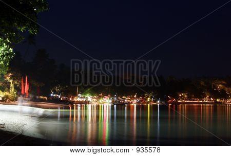 Chaweng  Beach At Night 01