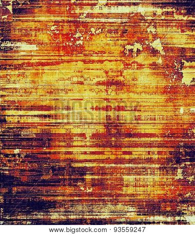 Old abstract grunge background, aged retro texture. With different color patterns: yellow (beige); brown; purple (violet); red (orange)