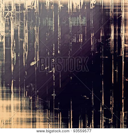 Highly detailed grunge texture or background. With different color patterns: yellow (beige); black; gray; purple (violet)