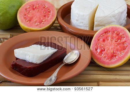 Dessert Romeo And Juliet Of Goiabada, Minas Cheese