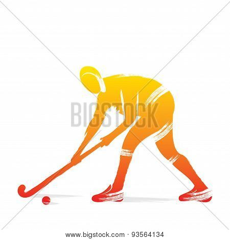 hockey player design