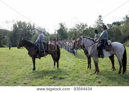 Infantry And Cavalry