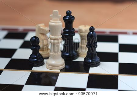 Basic chess pieces