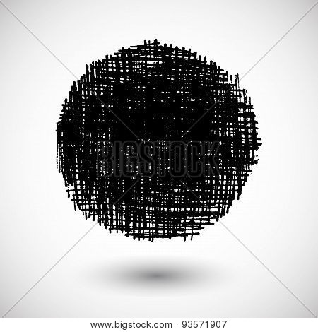 Vector Grunge Shape