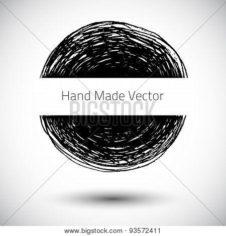 Vector  Grunge Blot
