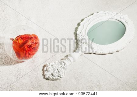 Mirror And Rose