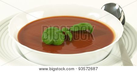 Tomato Soup In Bowl