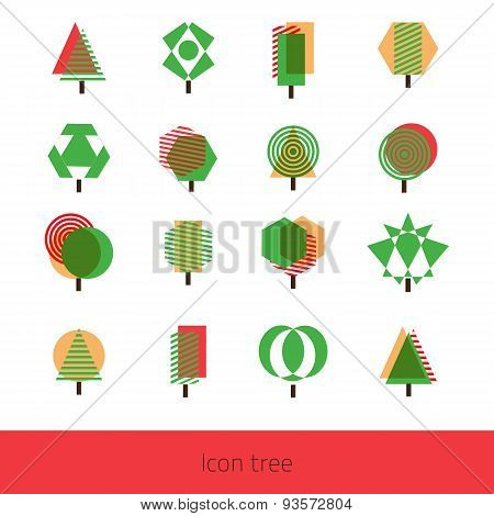 Vector Icon Tree