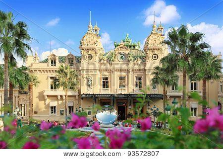 Grand Casino in Monte Carlo, Monaco