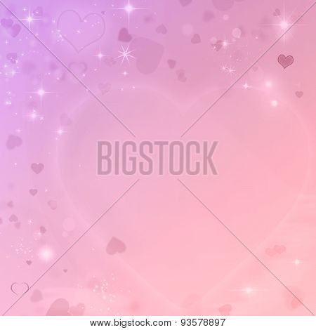 Colorful valentines background