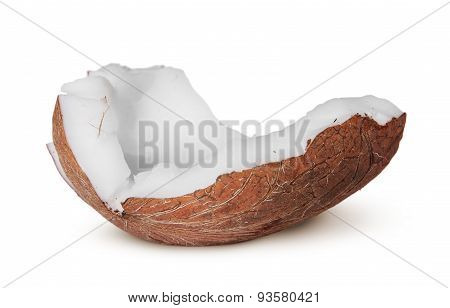 One Piece Of Coconut Pulp