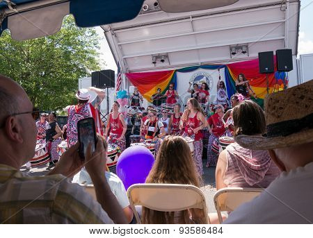 Batala Nyc At Rockland County Pride festival