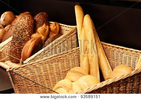 Bread In The Store