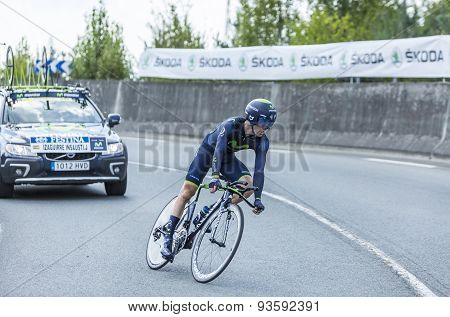 The Cyclist Jon Izagirre Insausti - Tour De France 2014