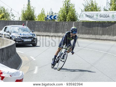 The Cyclist Giovanni Visconti - Tour De France 2014