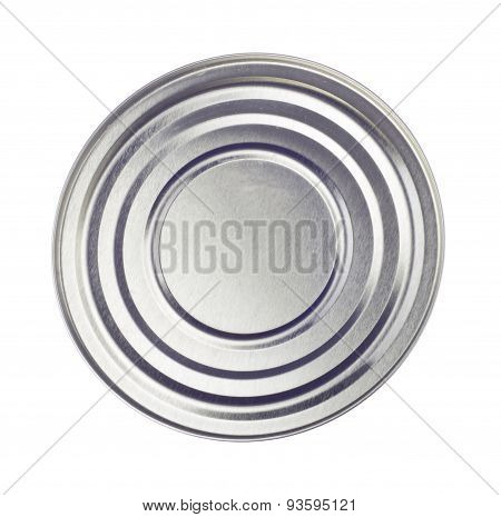 Canned Isolated On A White Background