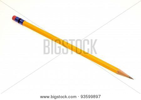 Lead Pencil And Eraser