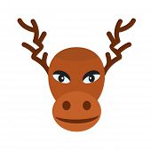 picture of rudolf  - Christmas - JPG