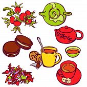 stock photo of tea party  - Tea ceremony - JPG