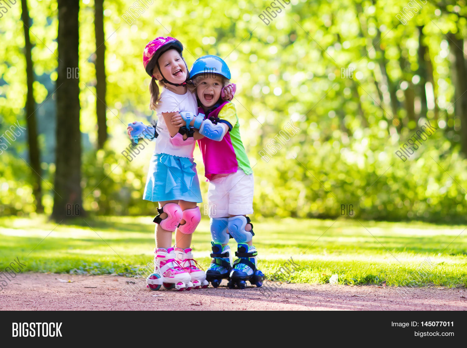 Roller skates boy