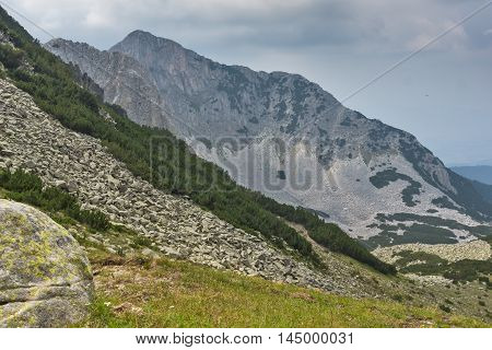 Amazing view of Cliffs of  Sinanitsa peak, Pirin Mountain, Bulgaria