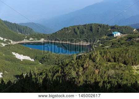 Amazing view with clear sky of  Sinanitsa lake,  Pirin Mountain, Bulgaria