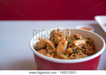 food, Spicy Chicken, salad chicken, food salad spicy