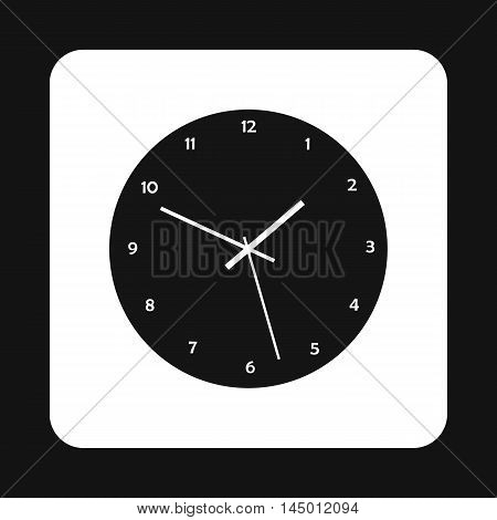 Mechanical watch icon in simple style isolated on white background. Time symbol