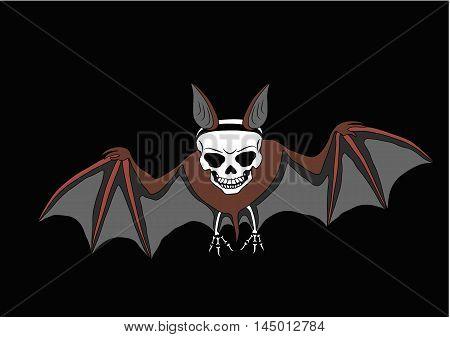 illustrations, celebrations, animals, halloween, bat, spooky, skull, human, vector, horror, holiday, color, symbols, art, bones, night, design, cultures, dark, holidays, black, october, autumn, skeleton, backgrounds, event, objects, dead, shape, body, sty