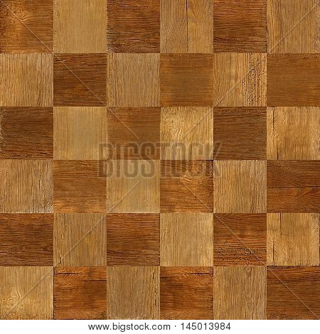 Wooden chess board stacked for seamless background veneer rosewood