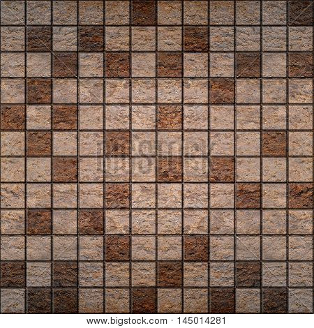 Stone tiles stacked for seamless background - decorative wallpaper