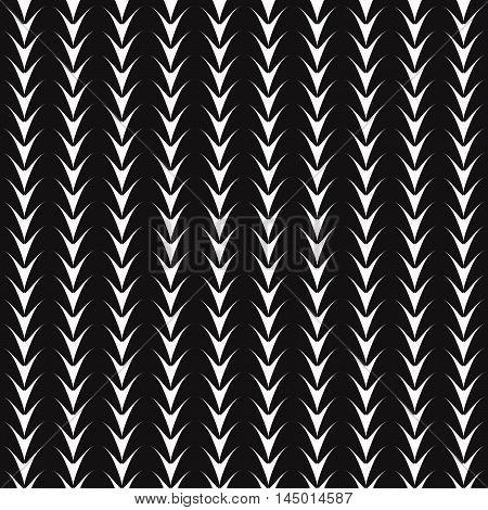 Classic monochrome decor. Endless abstract elements. Geometric simple seamless art. Modern repeating wallpaper. Graphic minimalist elegant print. Vector...