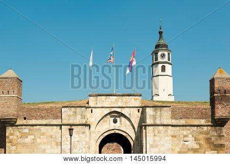 Stambol Gate of Kalemegdan Fortress, Belgrade, Serbia