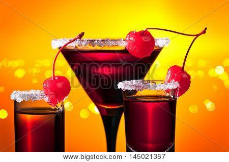 Alcoholic Drinks With Sweet Cherry