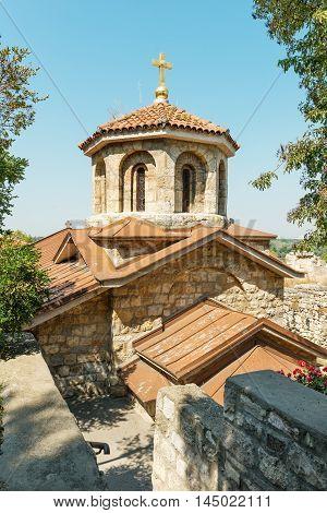 Beautiful Svete Petke Church by Kalemegdan Fortress, Belgrade