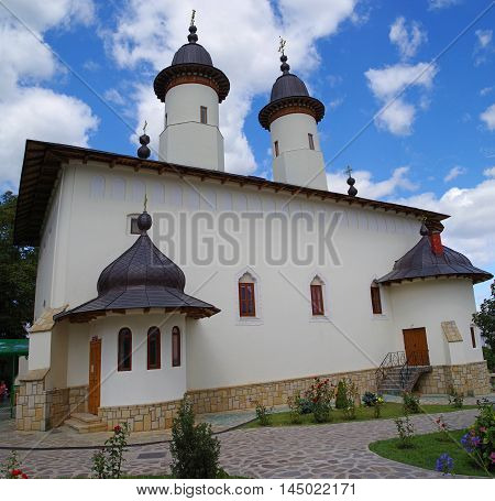 Varatec Monastery is one of the largest nun monastery in Romania with more than 400 nuns living here. The monastery church is from 18th century.