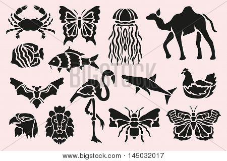 Animal Symbols Set