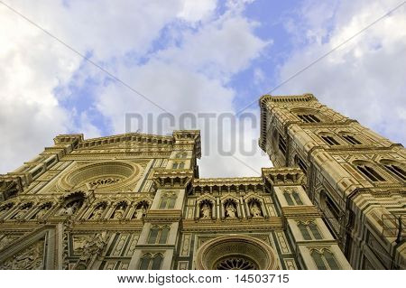 The church of Santa Maria del Fiore in Florence - Italy