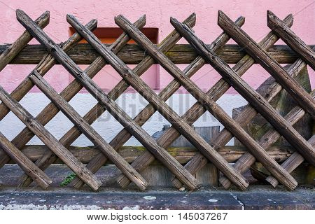 Gate Square Fence Outside Decoration House Structure Wooden